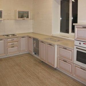 Кухонная угловая столешница, акриловый камень LG - G 109