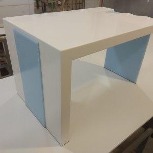Журнальный стол из искусственного камня LG Hi-Macs S 028 и S 303