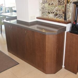 Столешница для кафе под бойлер, камень LG HI-Macs G 063