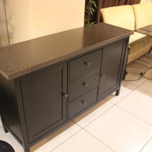 Столешница для кафе под бойлер, камень LG HI-Macs G 074