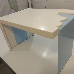 Журнальный стол из камня LG Hi-Macs S 028 и S 303